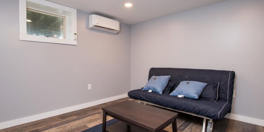 Bedroom off Garage