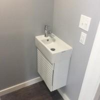 new bath, lower level