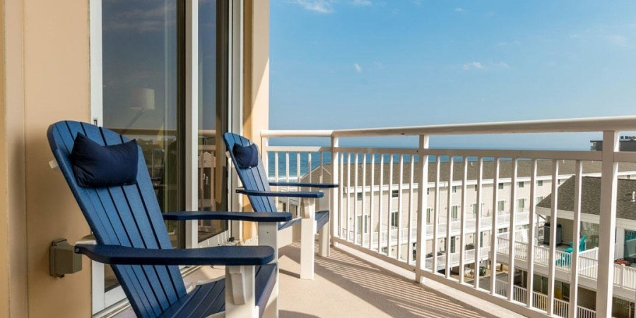 Balcony with View