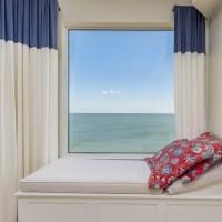 Window seat on the ocean