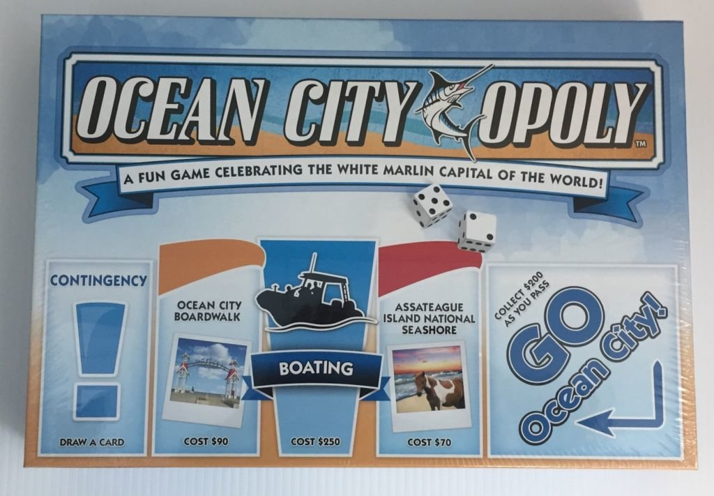 This Week's Special: Book a  Vacation and Receive OCEAN CITYOPOLY!